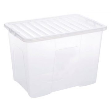 80l Plastic Storage Container For Storing Clothes