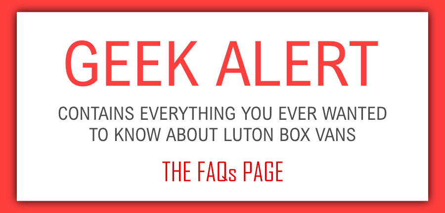 Luton Van FAQs – Everything You Need To Know About Box Vans