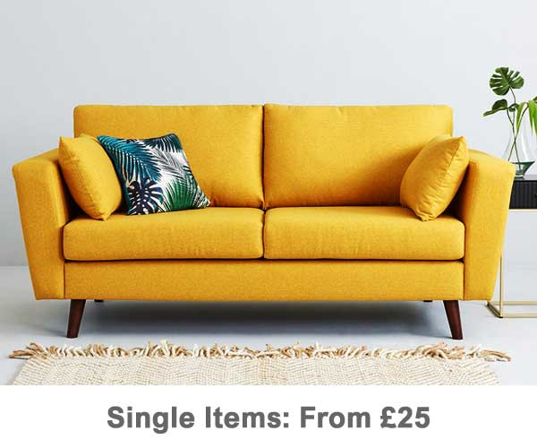 Single Item Moves - Yellow Sofa